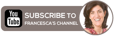 Subscribe to Francesca's YouTube Channel